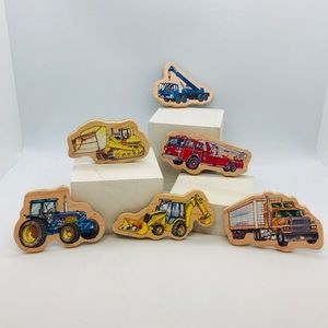 Melissa and Doug Transportation Magnet Set…